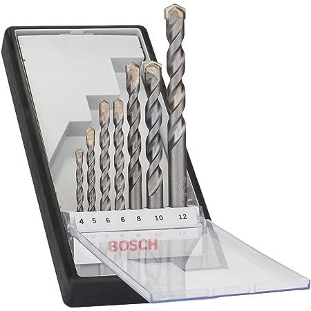 Bosch Professional 7-teiliges CYL-3 Betonbohrer Set (für Beton, Robust Line, Ø 4–12mm, Zubehör Schlagbohrmaschine)