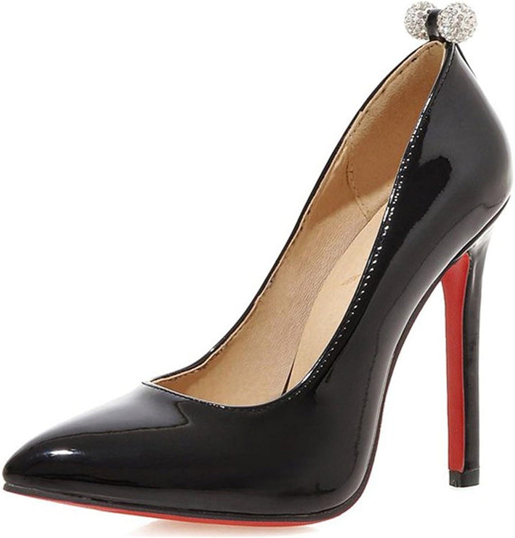 YUBUKE Women's New Classic Elegant Versatile Stiletto Dress Platform Pumps Heels shoes