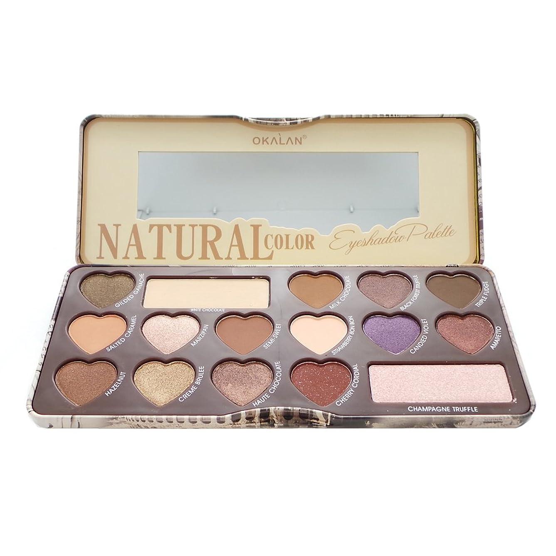 仮定する小競り合いミッションOKALAN Natural Color Eyeshadow Palette B (並行輸入品)