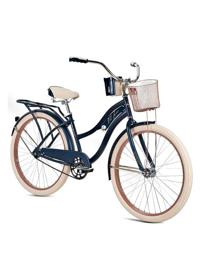 ハウスヶ月目緩むHuffy 26インチ レディース ネルルッソ クルーザーバイク ブルー