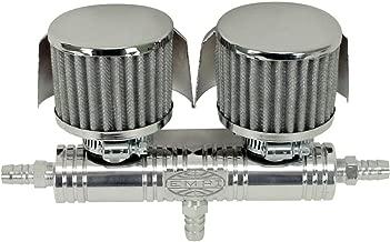 Empi 16-5153-0 VW Sand Rail, Buggy, Baja Billet Breather Tube w/Shielded Covers