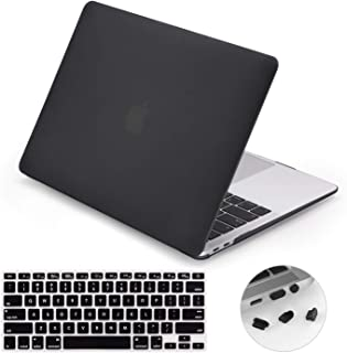 LENTION Matte Hard Case Compatible for MacBook Air (Retina,13-inch,2020) -Model A2179, Comes with Keyboard Cover and Port ...