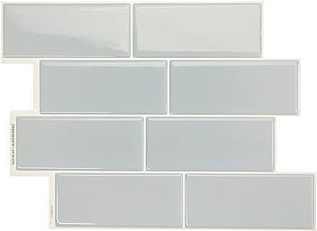 Amazon Com Smart Tiles Original Peel And Stick Backsplash Tiles Smart Tiles Original Peel And Stick Backsplash Tiles