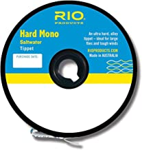 Rio Fly Fishing Tippet Hard Mono Saltwater 8Lb 30yd Fishing Tackle, Clear