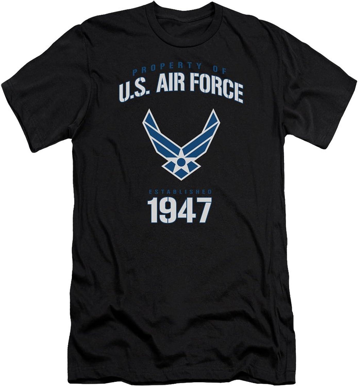 Air Force  Mens Property of Premium Slim Fit TShirt