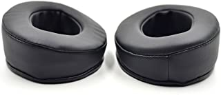 Replacement Cushion Earmuff earpads Ear Pads Cup Cover Pillow for Brainwavz HM5 HM 5 Headphones (Black)