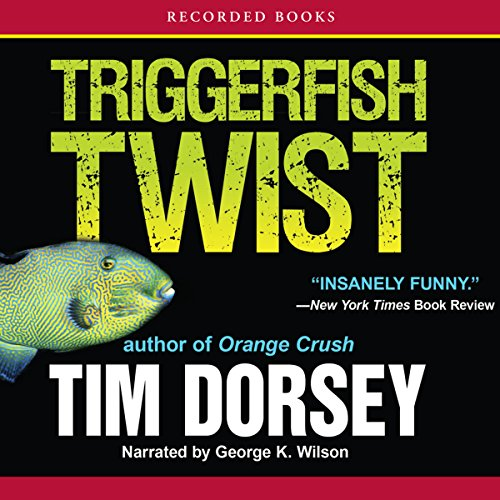 Triggerfish Twist audiobook cover art