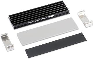 Aquacomputer kryoM.2 micro passive heat sink for M.2 2280 SSD