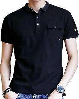 [ Smaids x Smile (スマイズ スマイル) ] ポロシャツ 半袖 通気性 シャツ ゴルフウェア シンプル 襟 トップス メンズ
