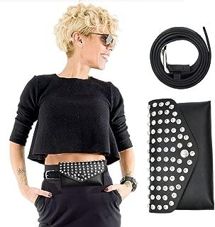 Women's Snake Skin Faux Pack Belt Waist Bum Bag Laser Travel Beach Purse