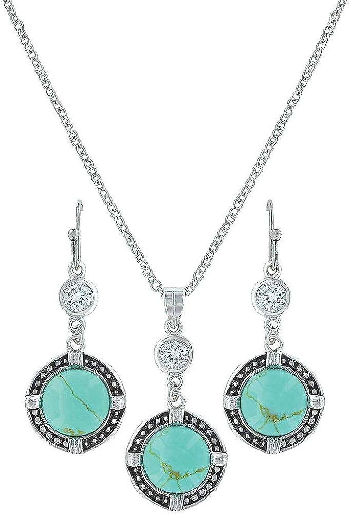 Montana Silversmiths True North Set Jewelry Turquoise Ranking Oklahoma City Mall TOP2