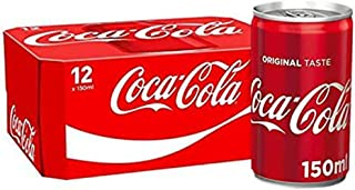 12x Coca-Cola Mini Cans (12 x 150ml)