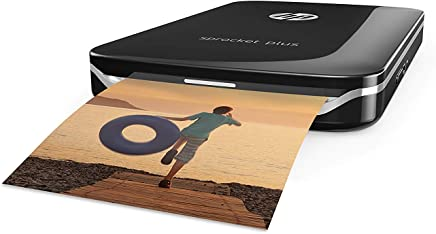 HP Sprocket Plus Instant Photo Printer (Black)