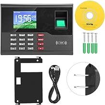 Fingerprint Password Attendance Machine,AC121 TCP/IP Biometric Fingerprint Employee Time Clock Machine Attendance Recorder (US Plug)