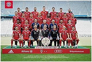 FC Bayern München Teamposter / Mannschaftsposter 2017 / 201