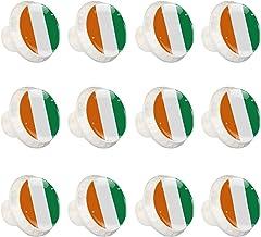 """12 Pack Ronde Keukenkast Knoppen Trekt (1-37/100"""" diameter) - Vlag - Dressoir Lade/Deur Hardware - DIY Patroon Maatwerk"""