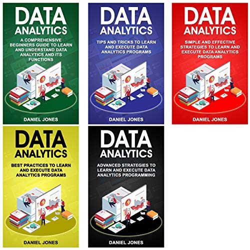 Data Analytics: 5 Books in 1 audiobook cover art