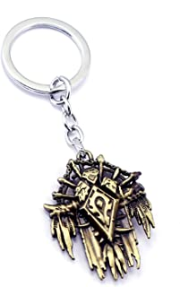 World of Warcraft WOW Tribal Logo Badge Key Ring