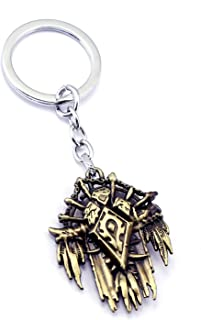 World of Warcraft WOW Tribal Logo Badge Key Ring