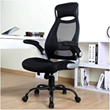 BERLMAN High Back Mesh Office Chair with Adjustable Armrest Lumbar Support Headrest Swivel Task Desk Chair Ergonomic Compu...