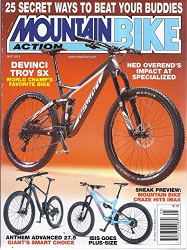 Mountain Bike Action (May 2016 - Devinci Troy SX)