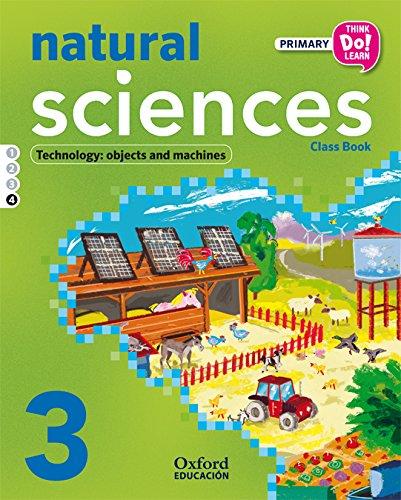 Think Do Learn Natural Science 3º Primaria Libro del Alumno Modulo 4 - 9788467383980