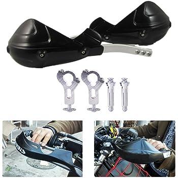 Motorrad Handschutz 7 8 22mm Griffschutz Schild Motorrad Motocross Roller Winddichter Lenker Handschutz Schutzausrüstung Schwarz Auto