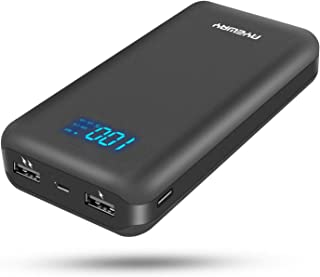 $32 » AYEWAY Power bank 26800mah portable charger with dual ports output,phone battery backup charger portable phone charger with visible LCD Screen,external charger for iPhone,Samsung Galaxy,ipad and More.