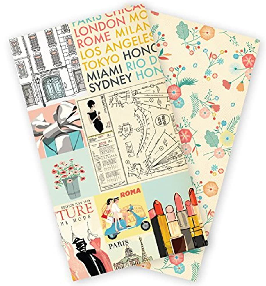 Echo Park Paper Company Metropolitan Girl Travelers Notebook Insert -Blank, None