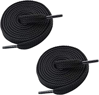 1 Pair Double Layer Flat Sneaker Shoe Lace, Flat Athletic Shoestring