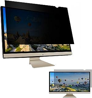 "Skylarking 27 inches Computer Privacy Screen Filter, Anti-Spy Anti-Glare Screen Protector Film Compatible 27"" Widescreen C..."