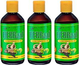 Dr. Vaidya's New Age Ayurveda | Herbaal | Ayurvedic Shampoo | Helps to reduce graying of hair, dandruff and hair fall | 20...