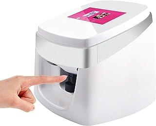 TUOSHI NP10 3D Intelligent Nail Printer Machine - Professional Digital Nail Art Printer - Support WiFi DIY USB (White)