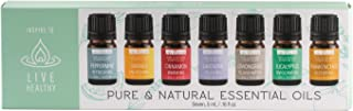 Inspire to Live Healthy S08497 Live Healthy Essential Oils 5 ml Amber