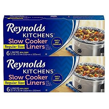 Reynolds Kitchens Slow Cooker Liners (Regular Size, 12 Count)