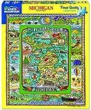 White Mountain Puzzles Michigan - 1000 Piece Jigsaw Puzzle