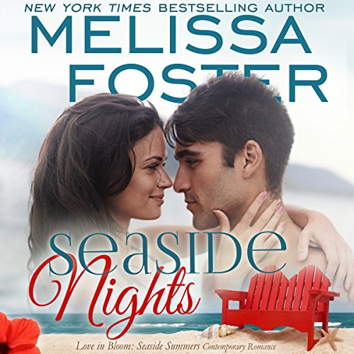 Seaside Nights audiobook cover art