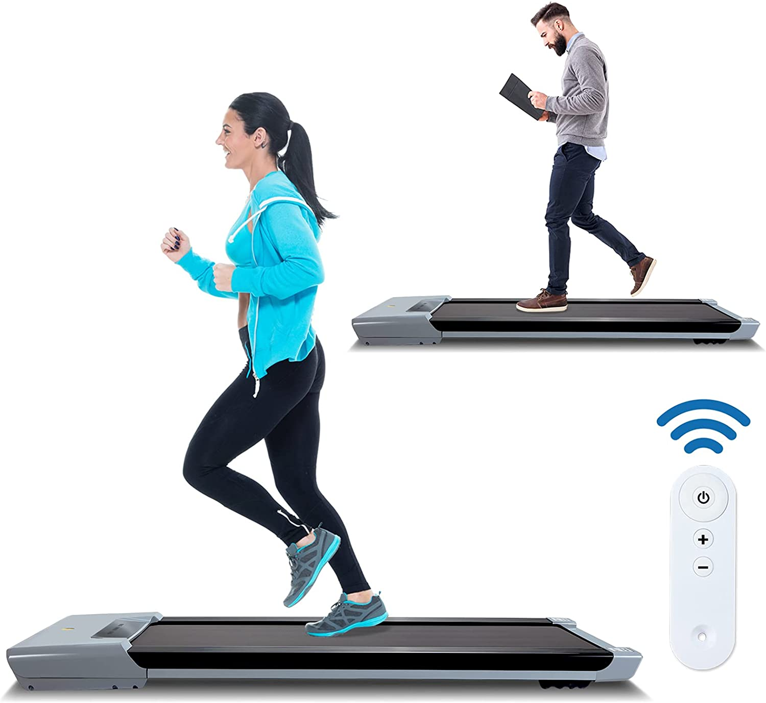 COOLNIC 2 Brand new Cash special price in 1 Electric Treadmill Walking Under with Wirele Desk