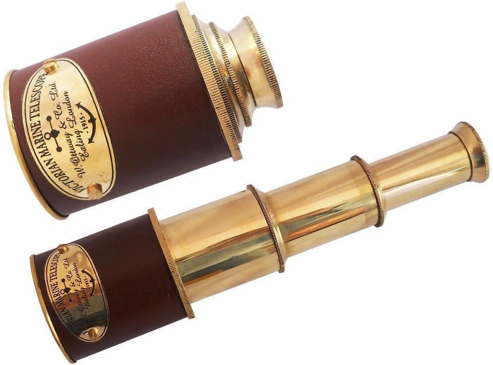 Shaheera Industry No. 1 Nautical Telescope Pirate Sp Binoculars Sale item Brass Monocular