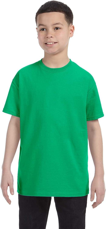 By Gildan Gildan Youth 53 Oz T-Shirt - Irish Green - M - (Style # G500B - Original Label)
