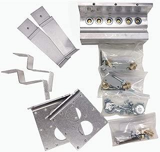 Marsh Bellofram 010-606-000 3-Unit Wall Mounting Kit for Type 1500 Transducer
