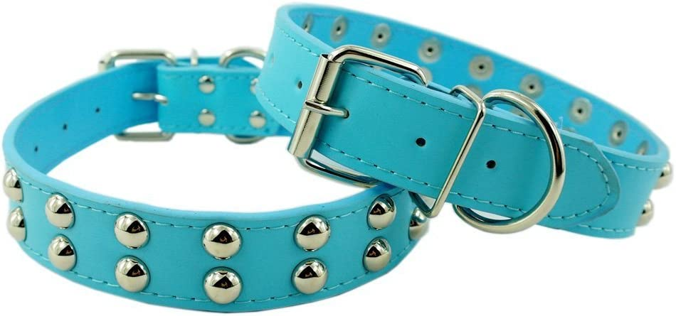 Benala Large-scale sale Soft Leather Dog Collar for with Small Medium Dogs free shipping Large