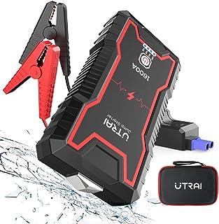 Chargeur de Batterie Portable 12v avec Charge Rapide USB avec /écran LCD et lumi/ère LED SLRMKK D/émarreur de Saut de Voiture d/émarreur de Saut de Voiture