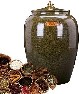 Pots et bocaux de conservation Pot en céramique à Usage Domestique Récipient à Grains Réservoir de Stockage scellé Seau à ...