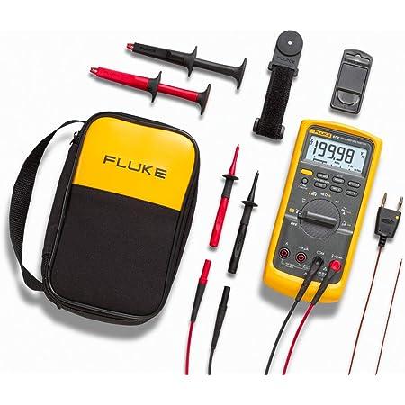Fluke 117 Digital Multimeter Mit Berührungsloser Spannungs Erkennung Elektriker Tl175 Test Führt Und Fluke Tpak 3 Magnetischen Toolpark Meter Aufhänge Set Baumarkt