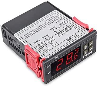 reptil frigo refrigeraci/ón y calefacci/ón acuario STC-1000X termostato regulador de temperatura terrario calentador de agua Elitech STC-1000// STC-1000 X Termostato con sonda colador