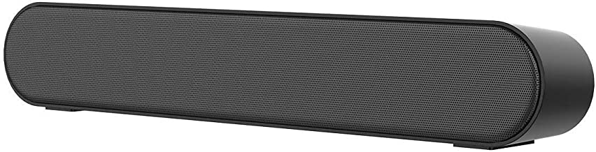 LENRUE PC Soundbar Stereo Bluetooth Sound Bar with Mic AUX/RCA FM Function, USB, Micro SD..