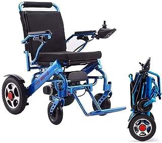 De peso ligero plegable sillas de ruedas eléctrica De peso ligero plegable sillas de ruedas eléctricas, sillas de ruedas duradero Lntelligent, desmontable y la carga adicional independiente for Comfor