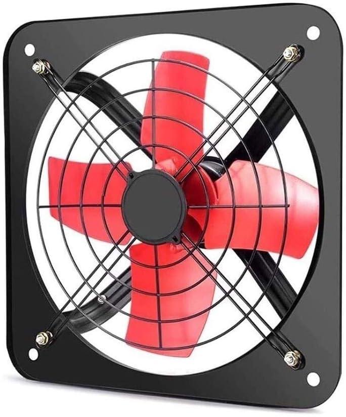 Extractor Cocina, Extractor de Baño Ventilador montado en la pared, bajo ruido Cocina Baño Extractor Extintor, ultra silencioso ventilador de ventilación, Neutro Industrial Metal Comercial de escape d
