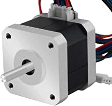 MELIFE 3D Printer Motors Nema 17 Stepper Motor 42-34 Motor 1.8 Stepper Angle 1.5A 2 Phase Body 4-Lead with 39.3 Cable for 3D Printer Extruder Reprap Makerbot CNC Creality CR-10 10S Ender 3 Printer